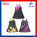 Платье Netball износа спорта сублимации изготовленный на заказ