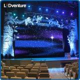 Alquiler electrónico grande a todo color de interior del panel del LED para los acontecimientos, conferencias, partidos