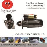国際的なトラックのエンジン始動器の&Catエンジンモーター(QD157)
