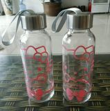 350ml Portable Kid Water Bottle/ Glass Water Packaging