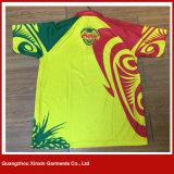 Sublimação de qualidade superior Running Sports Polo Tshirt (P144)
