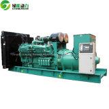 中国WeichaiのCHPシステムが付いているディーゼル発電機80kwの無声発電機