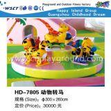 Caslte impertinente per il campo da giuoco dell'interno dei bambini (H13-01011)
