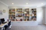 De eenvoudige Keukenkasten van de Lak van de Stijl Matte met Andere Kabinetten van de Douane