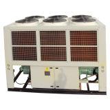 Refrigeratore industriale raffreddato ad aria della vite di velocità del refrigeratore con il compressore semiermetico della vite