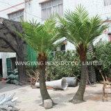 人工的なシミュレーションの偽造品のハンドメイドのココヤシの木の木3meters