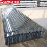 Las placas de acero de Aluzinc galvanizaron la hoja acanalada