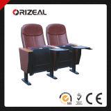 Assentos do cinema da cadeira do auditório de Orizeal os melhores com almofada de escrita