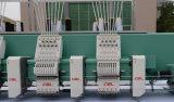 熱い販売の通常の速度の平たい箱およびシュニール6ヘッド刺繍機械