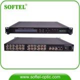 RF Qamの変調器(Muxの周波数変換器、QAMの変調器)へのCATV IP