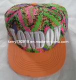 Красочными цветочными Snapback плоского края с