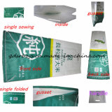 Bunter gedruckter Reis, Düngemittel, zementiert Kunststoffgehäuse-Beutel/Sack/Gewebe