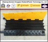 Orange et jaune extérieur 900 mm Flexible PU Plastic Cable Tray