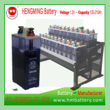 エンジン開始のためのHengming NiCd電池Gnc100 1.2V 100ah Kpxシリーズか超高速またはアルカリ充電電池および焼結させた陽極電池