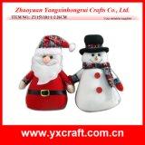 Орнаменты рождества бесплатной раздачи подарка рождества украшения рождества (ZY15Y099-1-2) милые