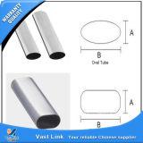 Tubo oval de aço inoxidável para o prédio (ASTM304L)