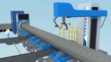 Tipo cortadora de la base del rodillo del tubo de acero del plasma del CNC