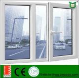 Fenêtre battante en aluminium à double vitrage avec As2047