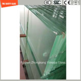 4.38mm-52mm Clear / White / Gray / Blue / Yellow / Bronze PVB, Sgp Safety Laminated Glass com Certificado SGCC / Ce & CCC & ISO para Balaustrada, Partição, Escada, Fence
