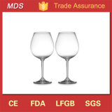 Tipos de Material de vidro potável Haste de esferas sólidas copo de vinho