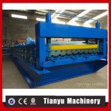 Het Blad dat van het Dakwerk van het aluminium Machine maakt het Vormen van Machine rollen