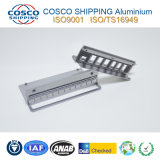 Perfil de alumínio/alumínio extrudido com precisão a usinagem CNC & Puncionar & Anodização (ISO9001:2000 certified & RoHS certificado)