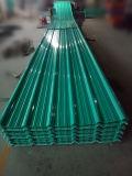 Apvc corrugou a telha plástica da folha da telhadura