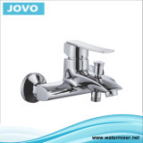 Le traitement simple de robinet sanitaire Bain-Versent le mélangeur (EC 73802)