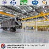 Large Span Steel Structure Workshop with Overhead Crane
