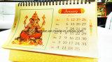 Calendario della stagnola di oro