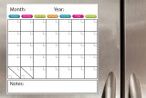 Cheap Custom High Quality DIY Dry ​​Erase Monthly Magnetic Refrigerator Calendars