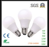 Luz de bulbo quente do diodo emissor de luz das vendas para o uso da casa
