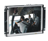10.2 Zoll-Screen-geöffneter Metallrahmen LCD-Monitor für Positions-Maschine