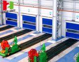 La reprise automatique d'obturateur à grande vitesse intérieur de rouleau rapide enroulent la porte de roulement de tissu de PVC