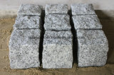 밝은 회색 화강암 G603 돌 포장 기계