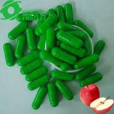 Capsula verde e bianca del Apple dell'all'aceto di sidro organico di peso di perdita