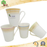 Tazza di tè di ceramica del caffè della tazza 10oz di Embossment per la tazza del regalo