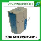 Rectángulo de papel de Cmyk de la impresión de los cosméticos del conjunto impermeable de encargo del perfume
