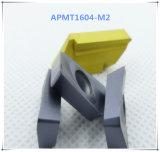 Cutoutil Apkt1604 Lamina &#160를 위한 강철 대안을%s Ht30; 탄화물 삽입