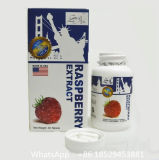 Pillules approuvées par le FDA de perte de poids--Capsule de cétone de framboise