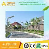 Luz de calle solar brillante del LED con la iluminación al aire libre del jardín de la cámara del CCTV WiFi de HD