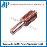 Elektrode 220037 voor Powermax 1650 Verbruiksgoederen van de Scherpe Toorts van het Plasma 100A