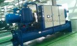 De met water gekoelde Overstroomde Harder van de Schroef Compressor met R22 Koelmiddel