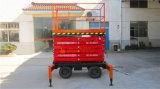 mover-se de 500kg 9meters Scissor o elevador (SJY0.5-9)