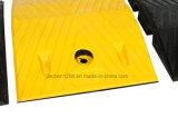 Gomma riciclata, tocco e gobba materiale di gomma durevole di velocità della strada