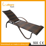 Móveis de exterior especiais Pool Side Wave Shape Sun Bed Deck Chair