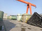 Los tanques usados del tratamiento FRP del agua y de aguas residuales