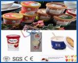 A linha de produção de gelados sorvete de leite