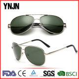 Venta caliente Ynjn Metal clásico Ce UV400 gafas de sol polarizadas (YJ-A1031)