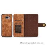 Новый отделяемый край etc Samsung Note8/S8/S8plus/S7/S7 аргументы за сотового телефона бумажника